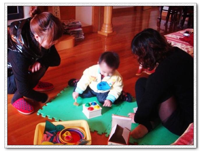 12个月早教宝宝学习识别能力